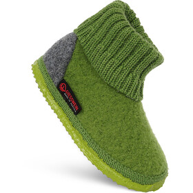 Giesswein Kramsach Chaussons montants Enfant, shaddow lime